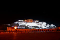 Potala Palace in TIBET. Potala Palace (a legendary palace in Lhasa, Tibet. Potala is the Sanskrit pronunciation of Buddha's Mountain Royalty Free Stock Images