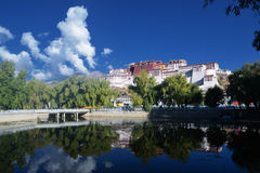 Potala Palace of Tibet Royalty Free Stock Photos