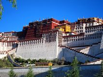 Potala Palace in Tibet Stock Image