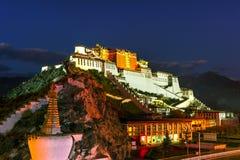 Potala palace,in Tibet of China stock image