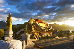 Potala palace,in Tibet of China Stock Photos