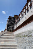 Potala Palace in Tibet Stock Photo