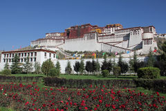 Potala palace, Tibet Royalty Free Stock Images