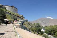 Potala palace, Tibet Royalty Free Stock Photo