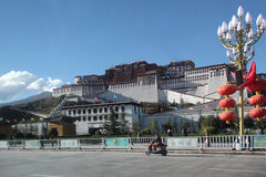Potala palace, Tibet Stock Photos
