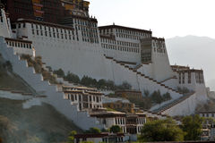 Potala palace  in Tibet Royalty Free Stock Photography