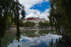 Potala Palace. Tibetan people`s temple Potala Palace Stock Image