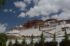 Potala Palace Royalty Free Stock Photography