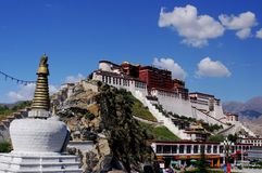 The Potala Palace. World cultural heritage Stock Photography
