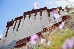 Potala Palance, Tíbet Foto de archivo libre de regalías