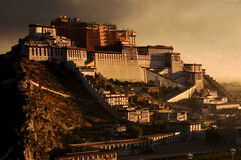 Potala Palast Stockbilder