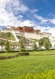 Potala Palast (in Lhasa, in Tibet) Lizenzfreies Stockbild