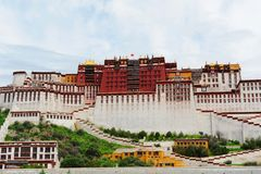 Potala Place. Potala Palce -- the winter palace for Tibetan Buddhism Vajrayana Buddhist royalty free stock images