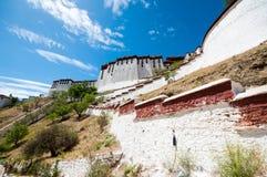 Potala slott Arkivbilder