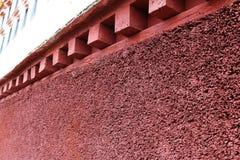 Potala slott i Tibet osedda sikter Arkivbild