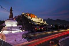 Potala slott, Tibet Arkivfoton
