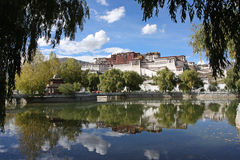 Potala temple stock images
