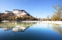 Potala Royalty Free Stock Images