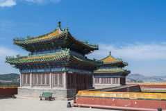 Potala Temple of Chengde Royalty Free Stock Photos