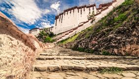 Potala temple in Tibet Stock Images