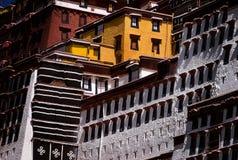 potala tibet för porslinlhasa slott Arkivbilder