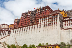 Potalapaleis, Lhasa, China Tibet Royalty-vrije Stock Foto's