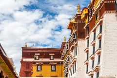 Potalapaleis, Lhasa, China Tibet Stock Foto
