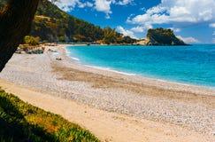 Potami beach, Samos royalty free stock image