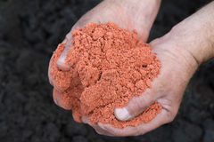 Potash fertilizer Royalty Free Stock Images