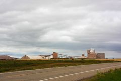 Potash mine Royalty Free Stock Photo