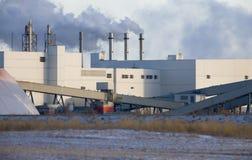 Potash Mine Saskatchewan. K + S Bethune Location Royalty Free Stock Photo