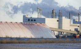 Potash Mine Saskatchewan. K + S Bethune Location Stock Image