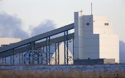 Potash Mine Saskatchewan. K + S Bethune Location Stock Images