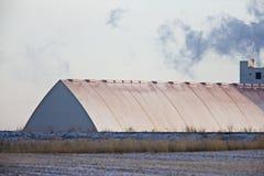 Potash Mine Saskatchewan. K + S Bethune Location Stock Photos