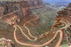 Potash road, island in the sky , Canyonlands , Utah Royalty Free Stock Images