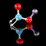 Potassium Nitrate molecule model. Chemical model of Potassium Nitrate Stock Photography