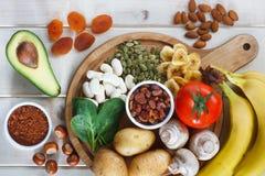 Potassium source in food Stock Images