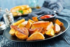 Potatis med fega vingar arkivfoto