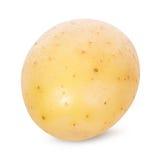 Potatis på vit royaltyfria foton