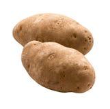 potatisar för clippingbana Royaltyfria Bilder