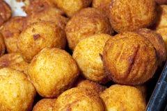 Potatisbollar Arkivfoton