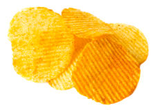 Potatischiper Royaltyfri Bild