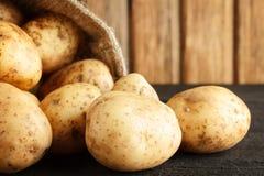 Potatisnärbild arkivfoto