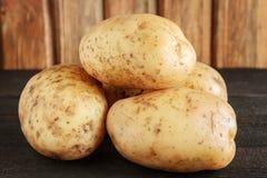 Potatisnärbild royaltyfria foton