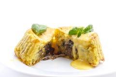 Potatispudding Fotografering för Bildbyråer