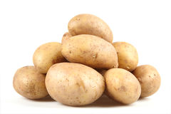 potatistubers royaltyfria bilder