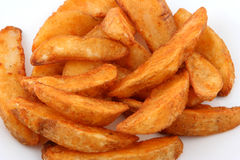 potatiswedges royaltyfria bilder
