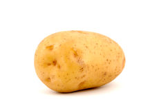 Potato. A baking potato, shot from the side Royalty Free Stock Image
