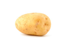 Potato. A baking potato, shot from the side Royalty Free Stock Photography