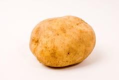 Potato. On the white background stock photography